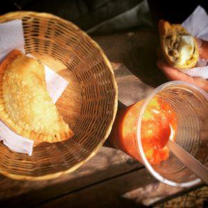 Empanada und Salpicon